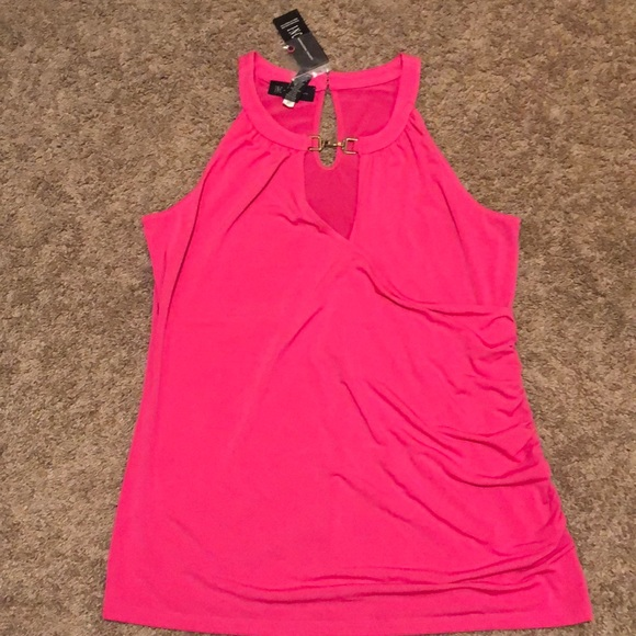 INC International Concepts Tops - Hot pink club blouse